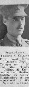 Collins, Francis A