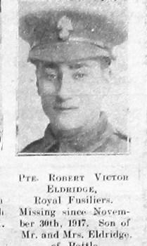 Robert Victor Eldridge