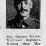 William George Stride