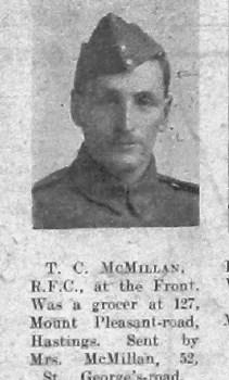 T C McMillan
