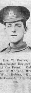Robins, William S