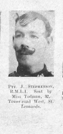 J Stephenson