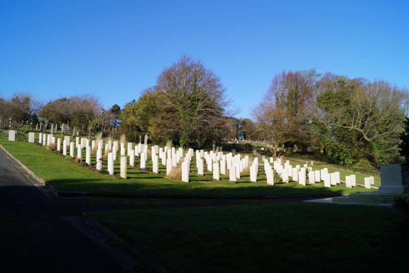 Hastings Cemetery WW1