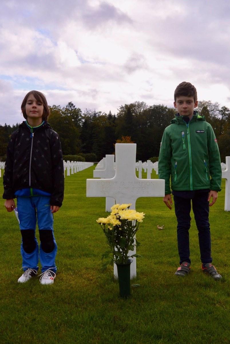 Robert Burlison gravesite, Epinal, France