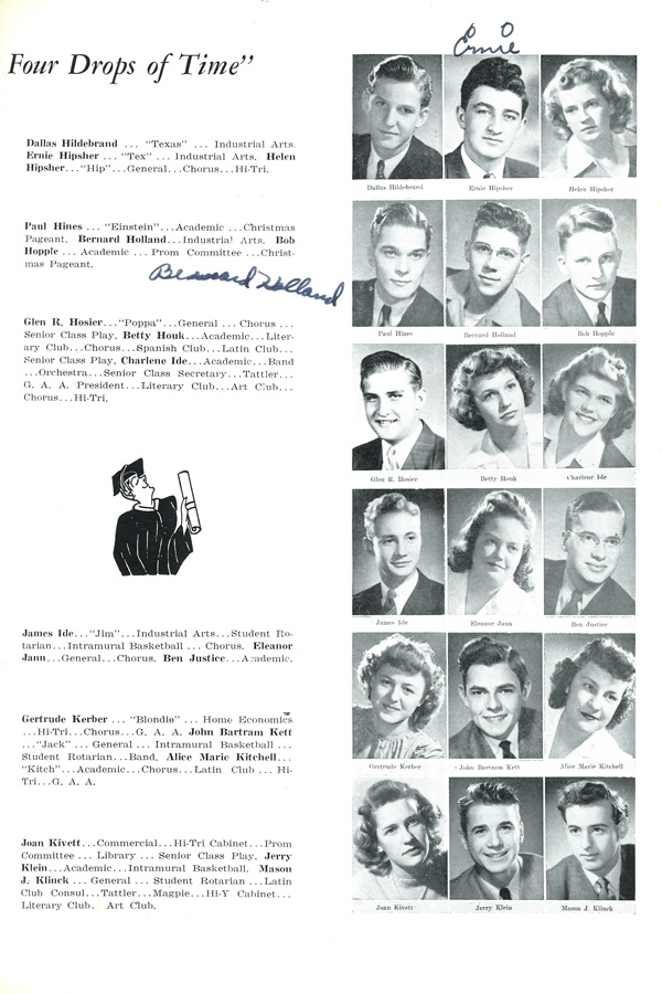 See You Next Year! High School Yearbooks from WWII
