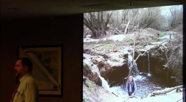Cherry Creek Sinkhole presented by VSU Professor Don Thieme