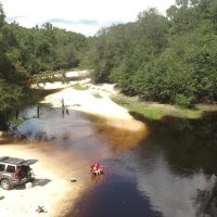 Berrien Beach at GA 168 on the Alapaha River