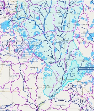 300x355 Context streets, in Little Alapaha River, by John S. Quarterman, for WWALS.net, 4 December 2014