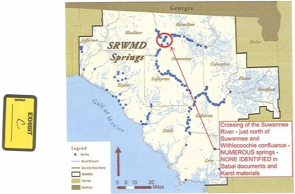 600x395 NUMEROUS springs, NONE IDENTIFIED, in TSE Plantation against Sabal Trail pipeline, by Thomas S. Edwards, Jr., for WWALS.net, 29 January 2015