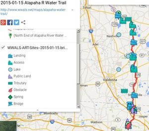 300x264 ARWT Legend, in 2015-01-15 Alapaha River Water Trail Map, by John S. Quarterman, for WWALS.net, 15 January 2015