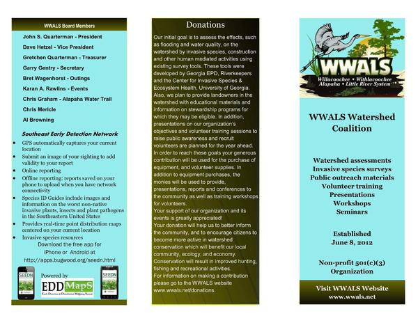 600x464 Cover, Donations, SEEDN, in WWALS Brochure, by John S. Quarterman, for WWALS.net, 12 February 2015