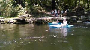 Movie: Its freezing! Suwanacoochee Spring on Withlacoochee River (3.8M) 30.3869076, -83.1716308