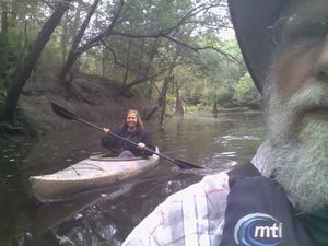 Boating upstream 30.8882561, -83.3236465