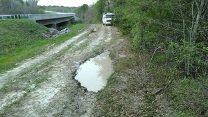 Because potholes