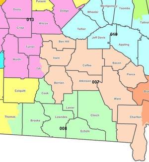 Central south Georgia