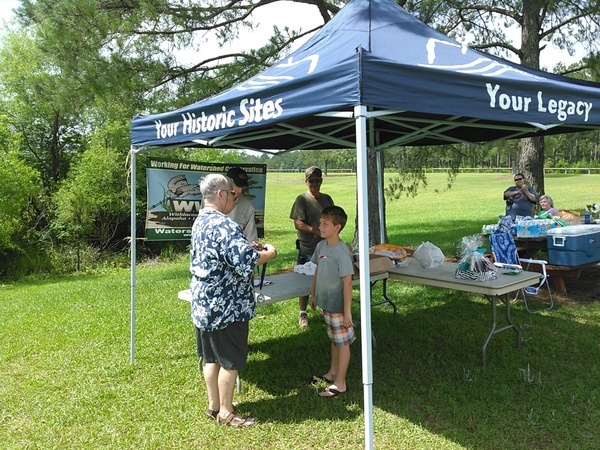 Youngest solo paddler: Preston Peters, Tifton