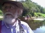 Phil walking in boat, 31.0312614, -83.4771423