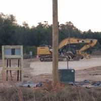 Sabal Trail Contractor Yard in Brooks County, GA 2016-11-10