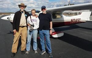 Plane, John S. Quarterman, Beth Gammie, E.M. Beck, 30.7834917, -83.2717289