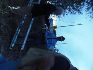 He didnt like the ladder