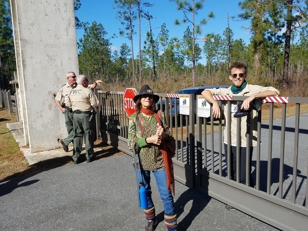 FWC, Laura Dailey, Dylan Hansen, SRSP closed gate,