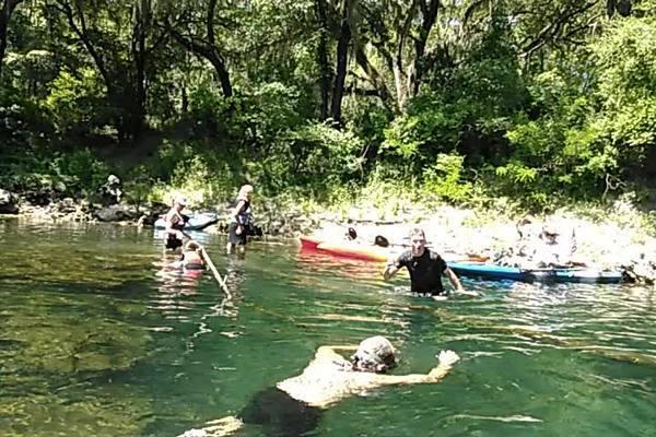 Movie: Swimming at McIntyre Spring (1.5M)
