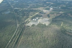 WSW across Central Florida Pipeline Corporation, 6525 Osceola Polk Line Rd, Davenport, FL 33896, to Reunion Compressor Station, 28.2663060, -81.5411700