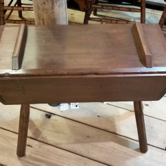 Solid Oak Pressed Back Chairs Spandex Chair Covers Wholesale Canada Antique Dough Box $395.00 On Sale Now For $295.00 Display At Micanopy Outpost | Wren Wood ...