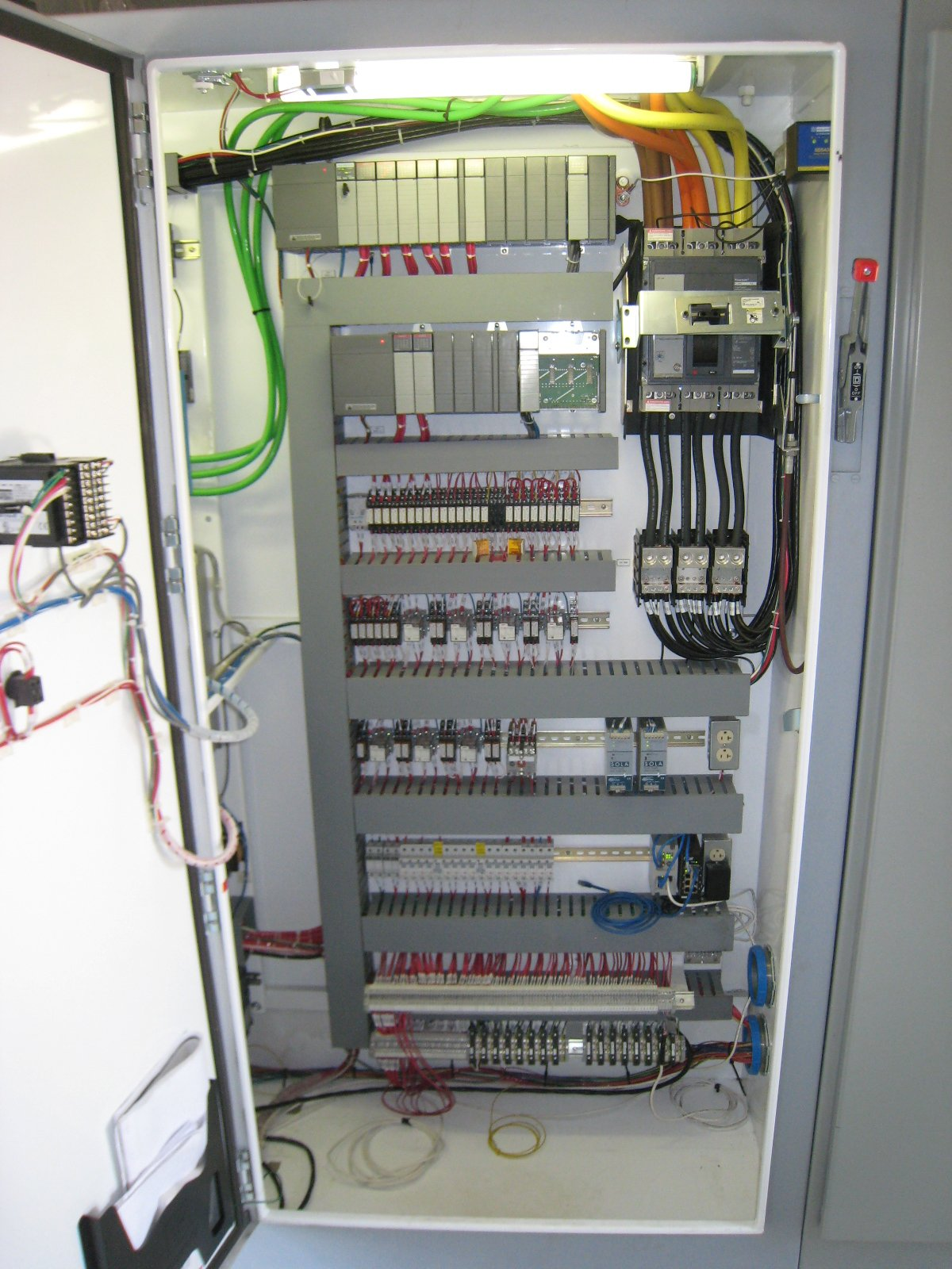 hight resolution of control panel pictures text page 2 plcs net interactive q a wiring a plc cabinet