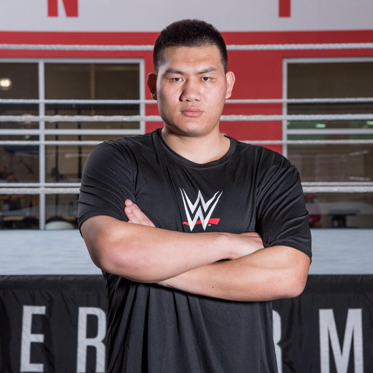 Image result for Guangming Gu WWE