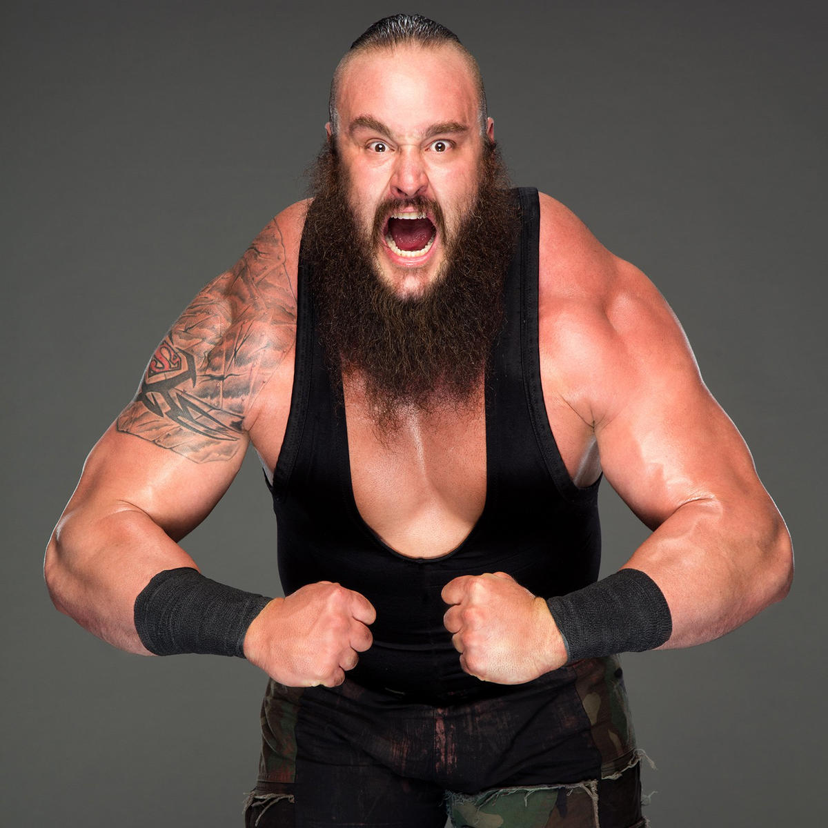 Braun Strowman was a champion strongman before terrorizing the competition in WWE.
