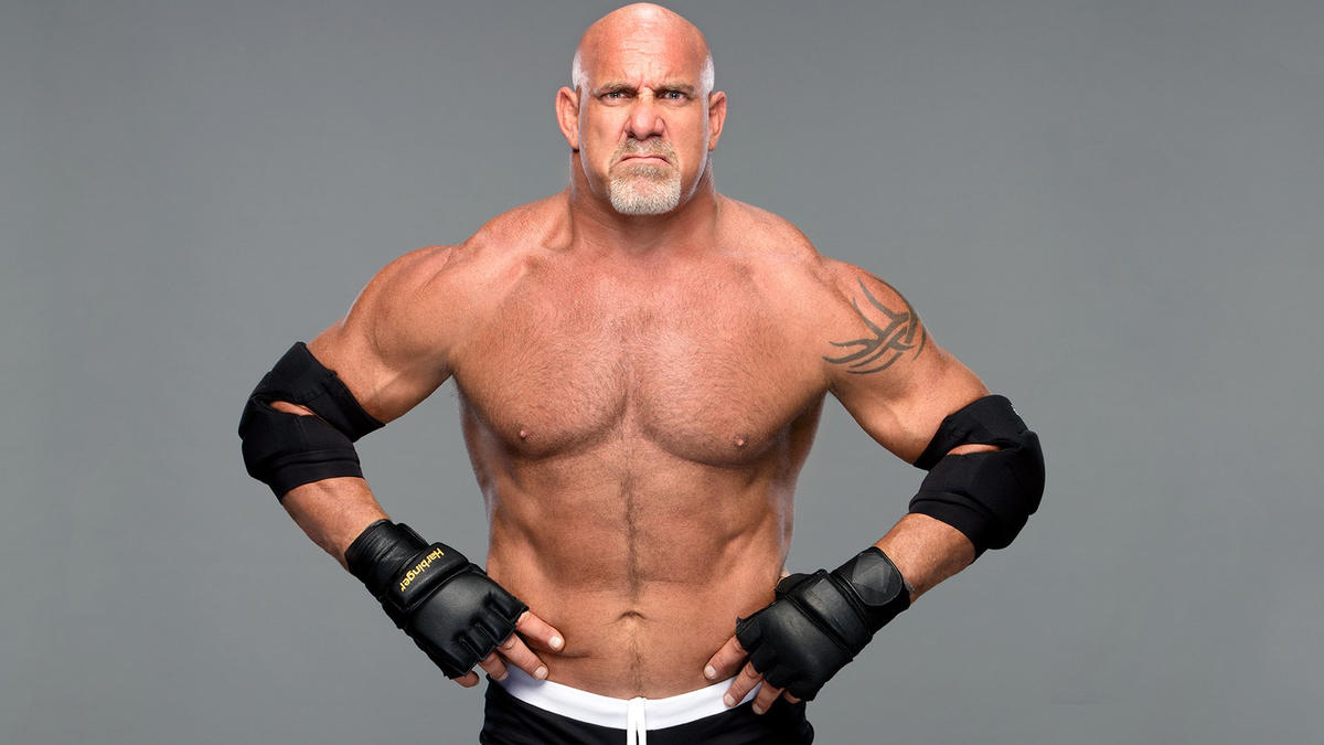 A defensive tackle for NFL teams like the Atlanta Falcons, Goldberg may be the most explosively strong Superstar ever.
