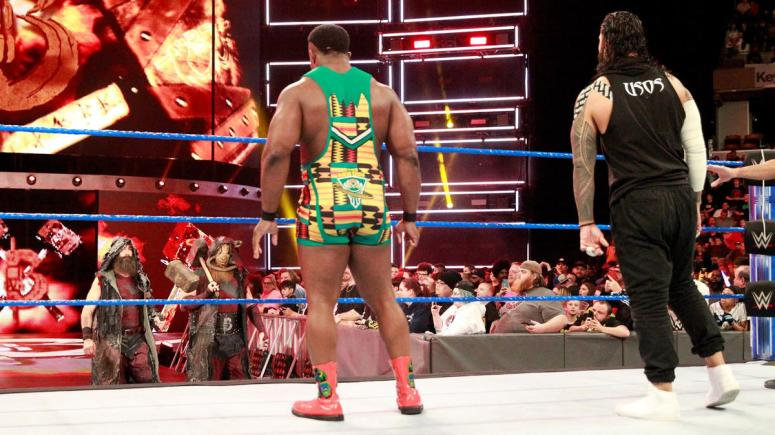 Image result for the usos vs the new day vs the bludgeon brothers