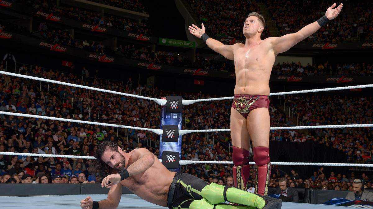 Miz mocks the WWE Universe after getting the upper hand...