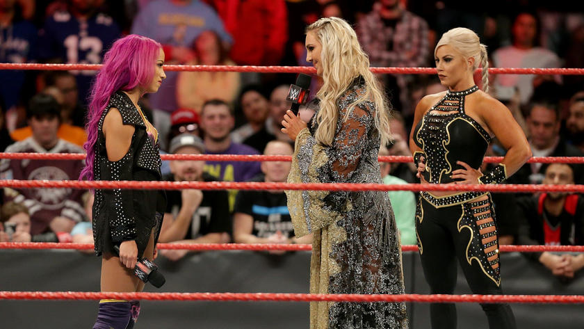 Charlotte grants her request, with a match next week on Raw in her hometown of Charlotte, N.C.