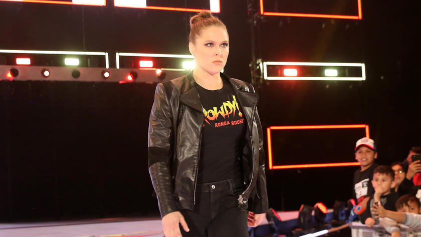 Image result for Ronda Rousey to appear on every Raw leading up to WrestleMania