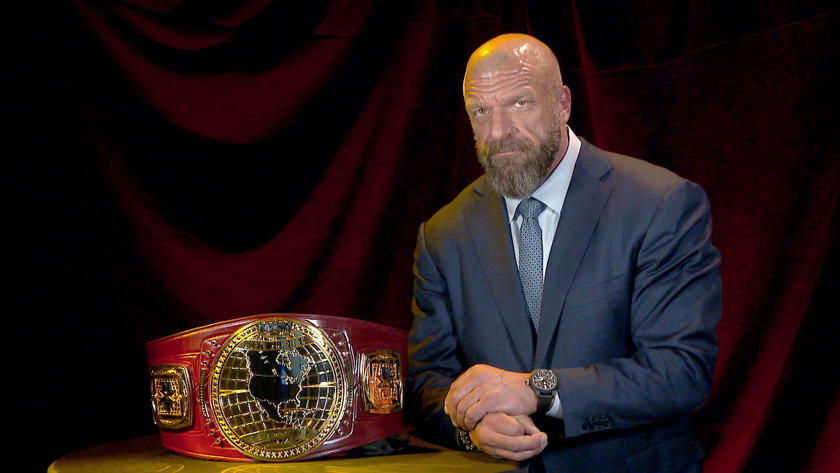 Image result for Triple H Unveils NXT's New North American Championship