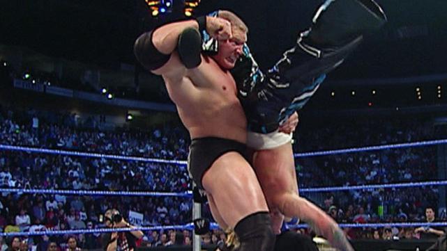 Brock Lesnar vs. Shannon Moore: SmackDown, December 18, 2003 - WWE  Championship Match   WWE