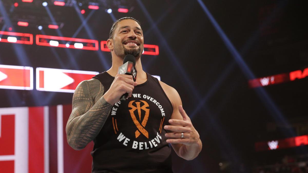 Returning Roman Reigns Announces His Leukemia Is In