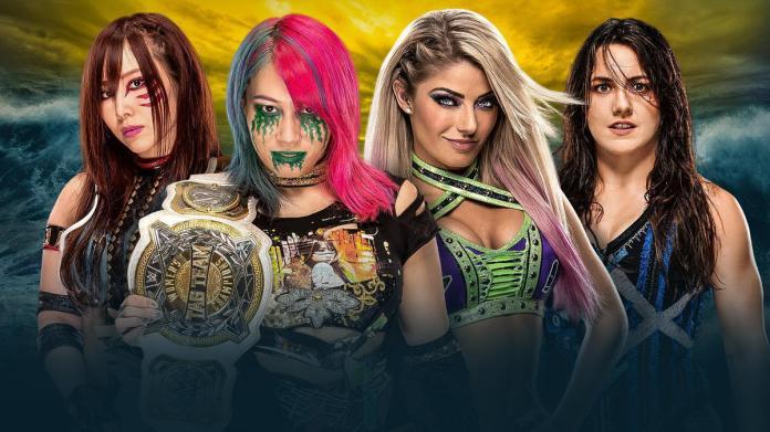 WWE Women's Tag Team Champions The Kabuki Warriors vs. Alexa Bliss & Nikki  Cross   WWE