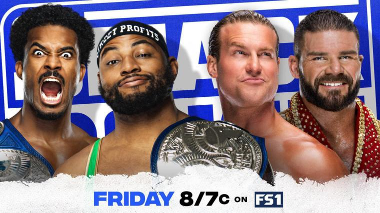 The Street Profits to battle Dolph Ziggler & Robert Roode in SmackDown Tag Team Title Match