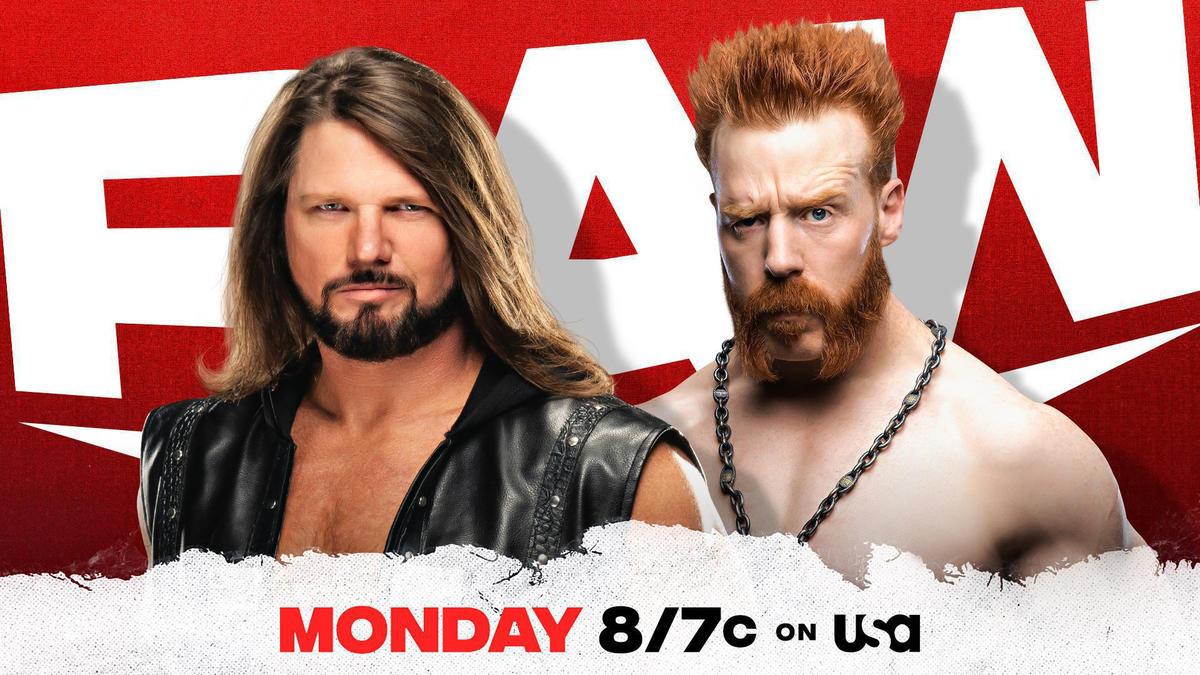 Sheamus and AJ Styles set for statement showdown