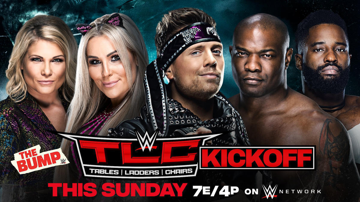 WWE's The Bump, Kickoff Show and more slated for WWE TLC Sunday