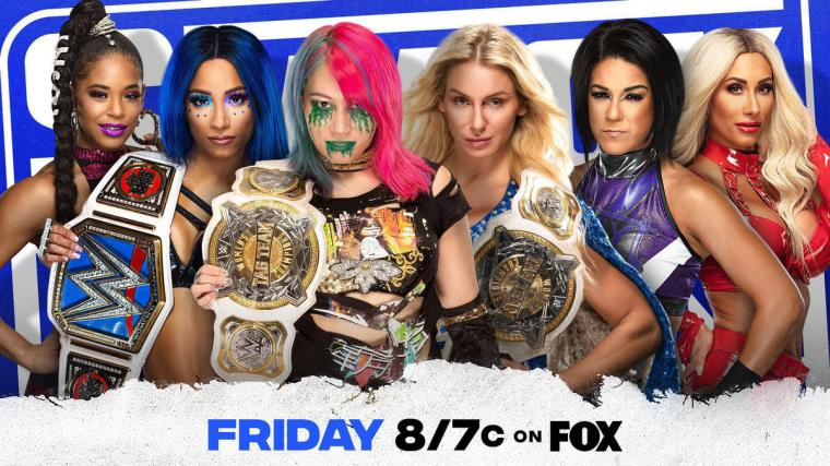 Charlotte Flair & Asuka to defend their WWE Women's Tag Team Titles in a Triple Threat Elimination Match