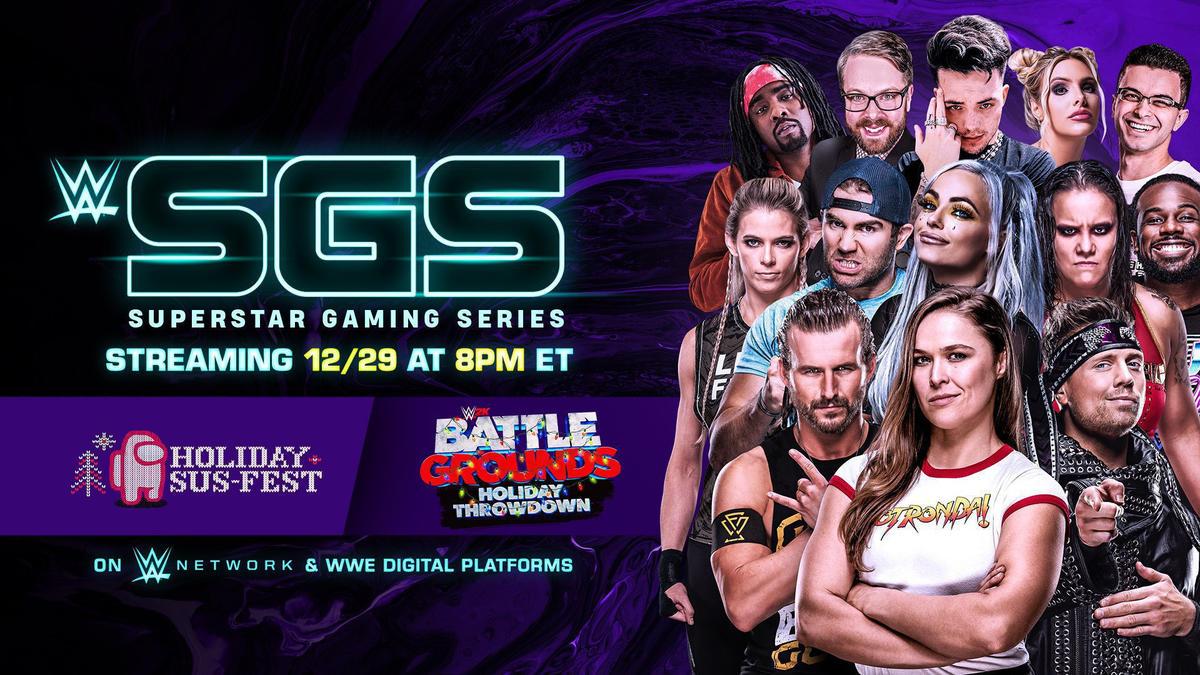 WWE Superstar Gaming Series debuts Dec. 29 on WWE Network and social platforms