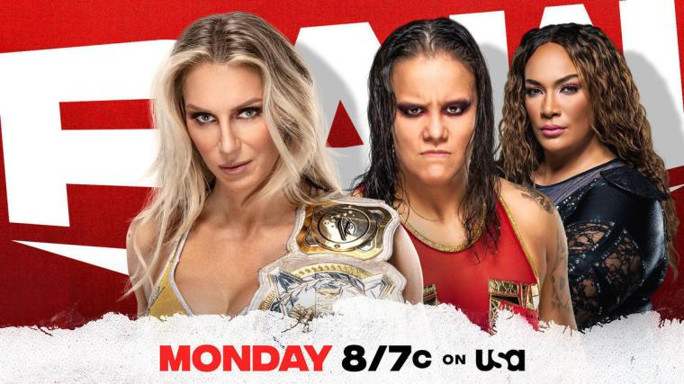Charlotte Flair to face off with Shayna Baszler Monday night on Raw