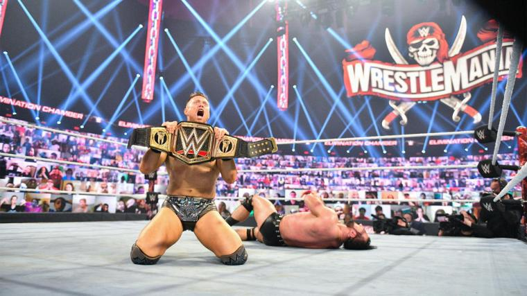 The WWE Universe reacts to The Miz's stunning WWE Championship cash-in