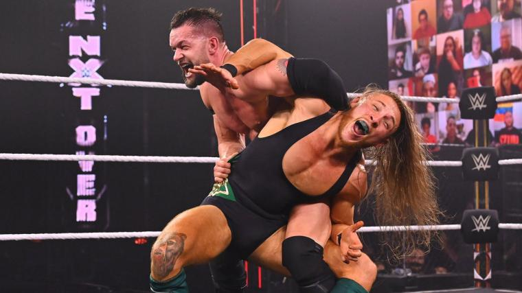 Finn Bálor def. Pete Dunne to retain the NXT Championship