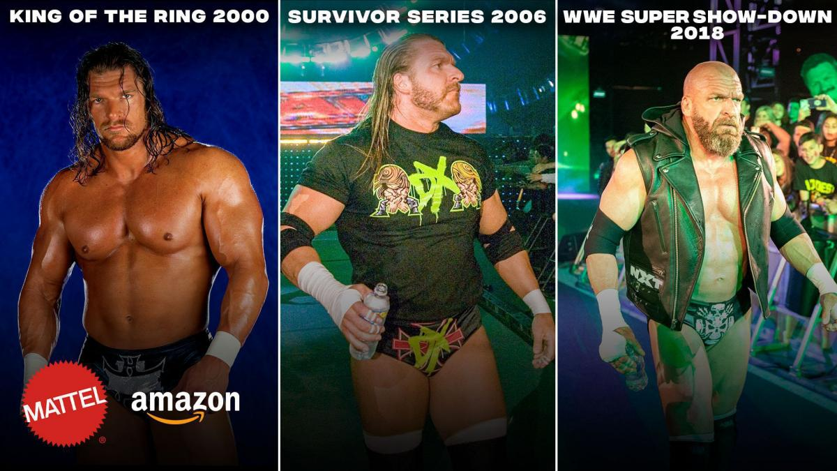 Vote now: Which Triple H will be part of Mattel's Ultimate Edition line?