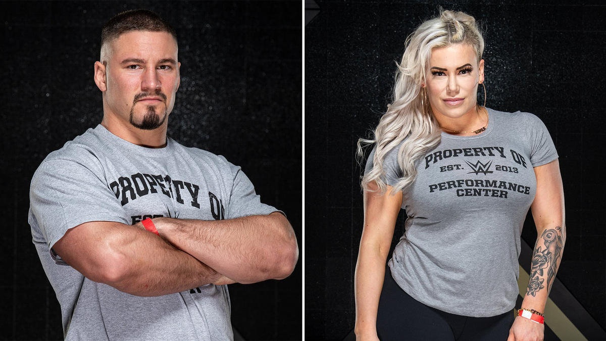 Largest recruit class in history reports to WWE Performance Center
